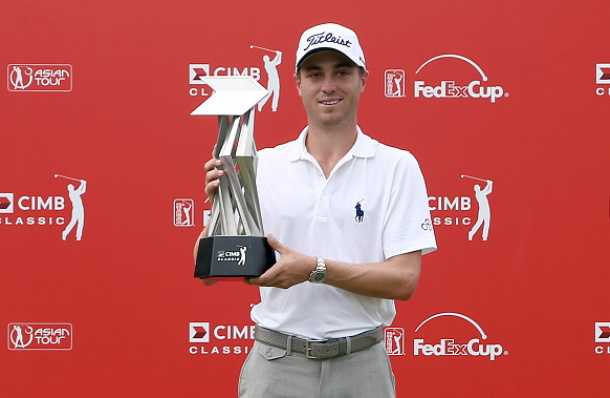 Justin Thomas Wins In Malaysia For First PGA Tour Victory