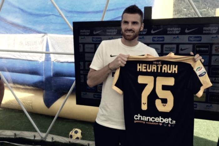"""Hellas Verona - Heurtaux: """"Voglio rimettermi in gioco"""""""