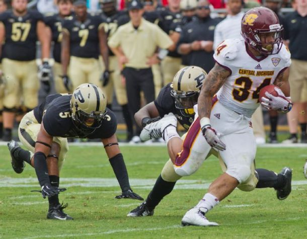 Central Michigan Goes On The Road And Upends Purdue