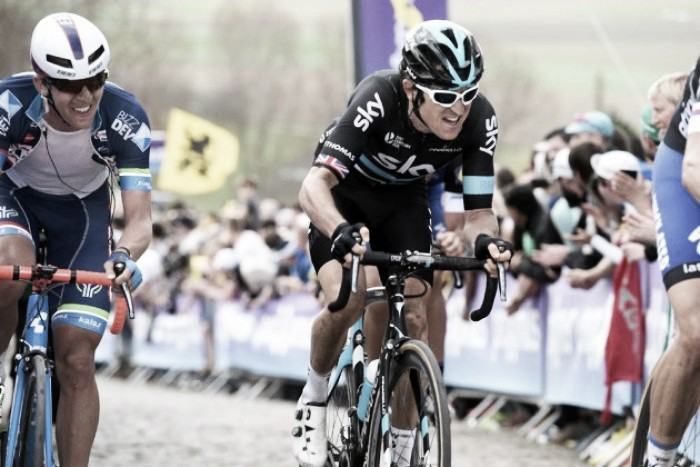 Geraint Thomas eyes Tour of Flanders win in the future