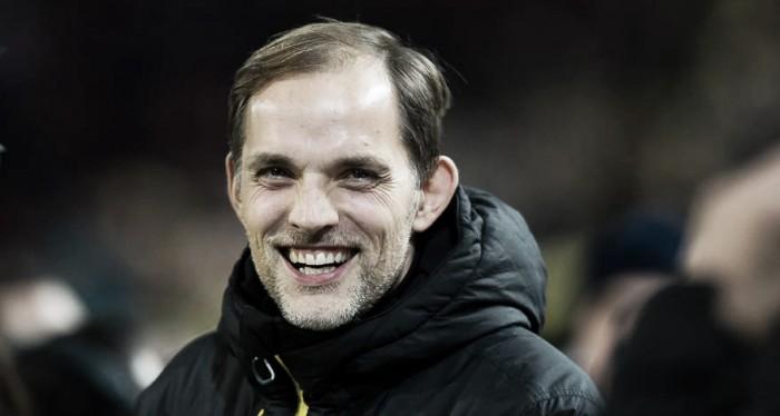 Thomas Tuchel parabeniza postura do Dortmund na vitória sobre Bayern