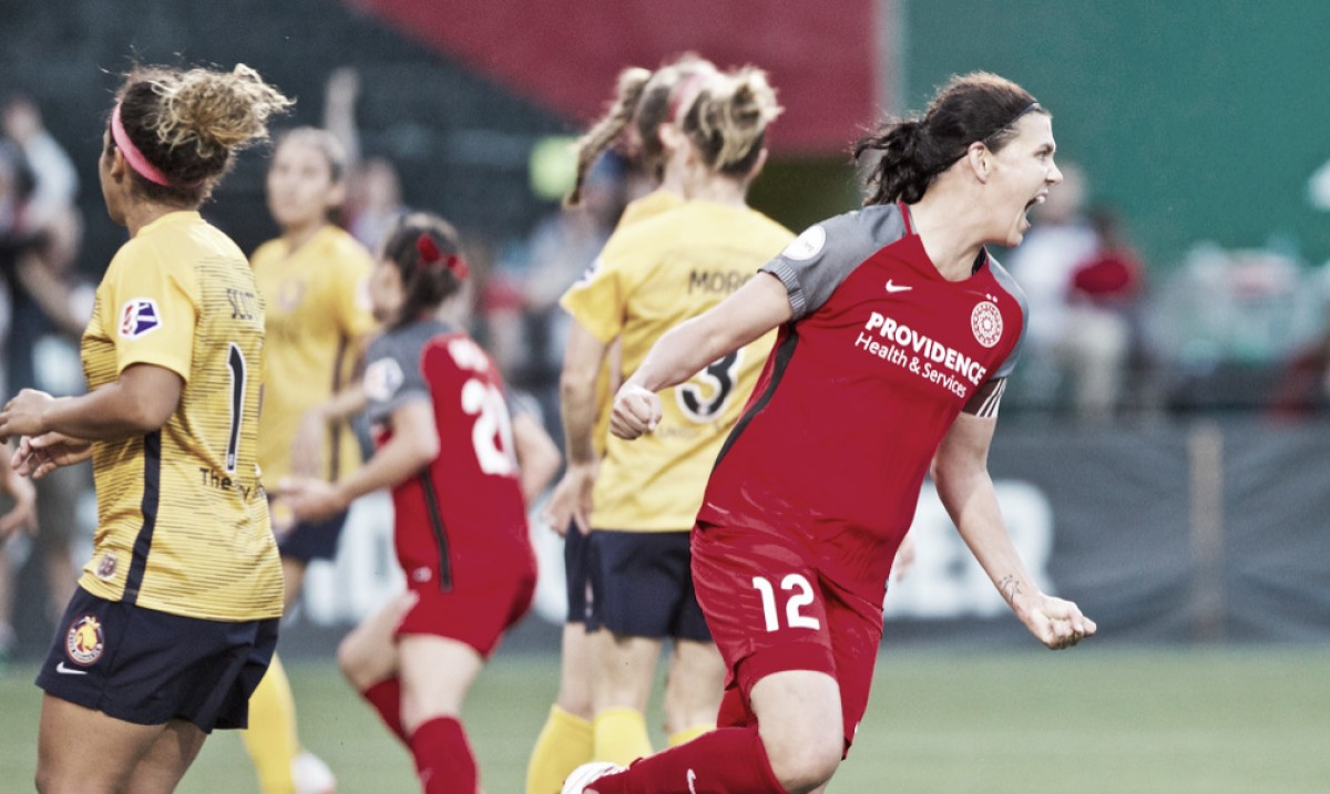 Portland Thorns FC earns an emphatic 4-0 win against Utah Royals FC