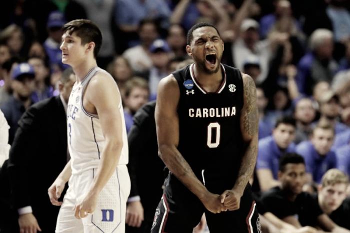Saltó la sorpresa: South Carolina elimina a Duke
