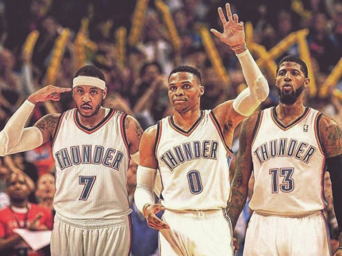 NBA : OKC Thunder - Tonnerre, foudre, éclair dans l'Oklahoma