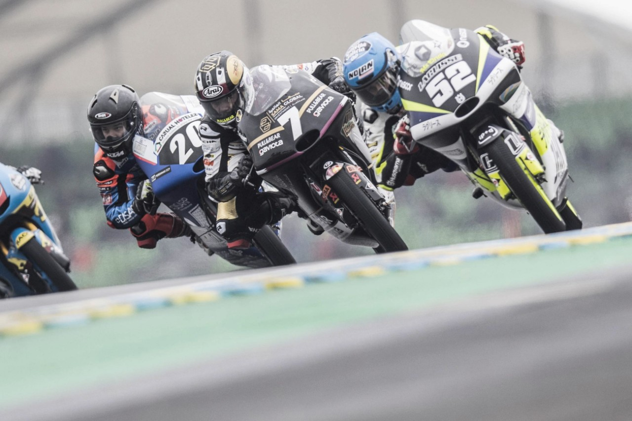 Los pilotos del Sama Qatar Ángel Nieto Team suman en Francia