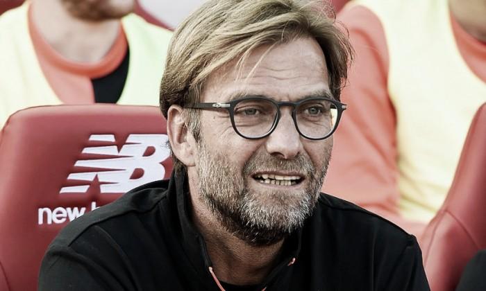 """Klopp: """"Queremos ganar la Copa de la Liga"""""""