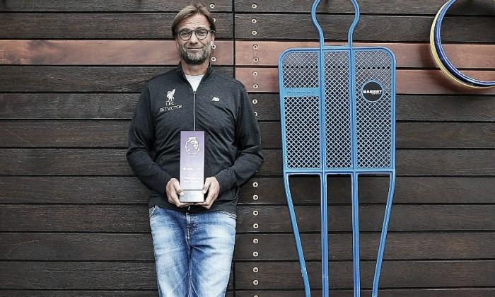 Jürgen Klopp es elegido Mejor Entrenador de septiembre en la Premier League