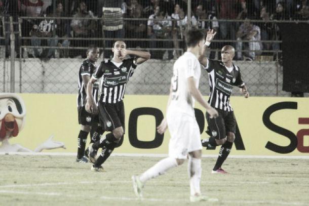 Time alternativo do Santos toma gol no fim do Maringá e força jogo da volta