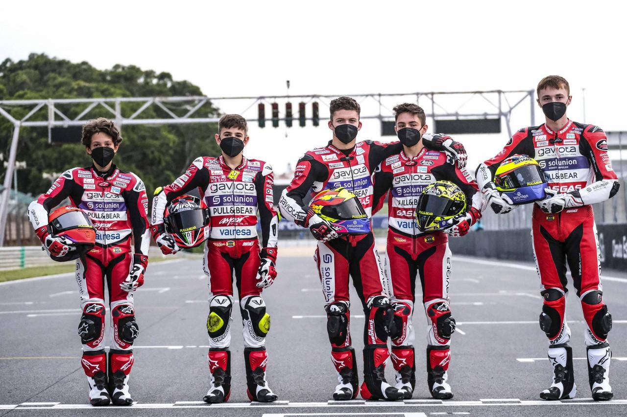 El Team Aspar pone rumba hacia Jerez