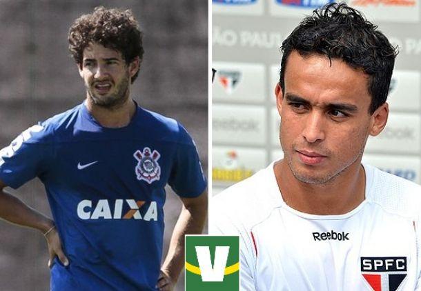 Corinthians e São Paulo negociam troca entre Alexandre Pato e Jadson