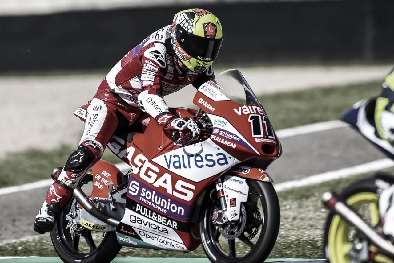 Los pilotos de Gas Gas lideran el FP1 de Moto3