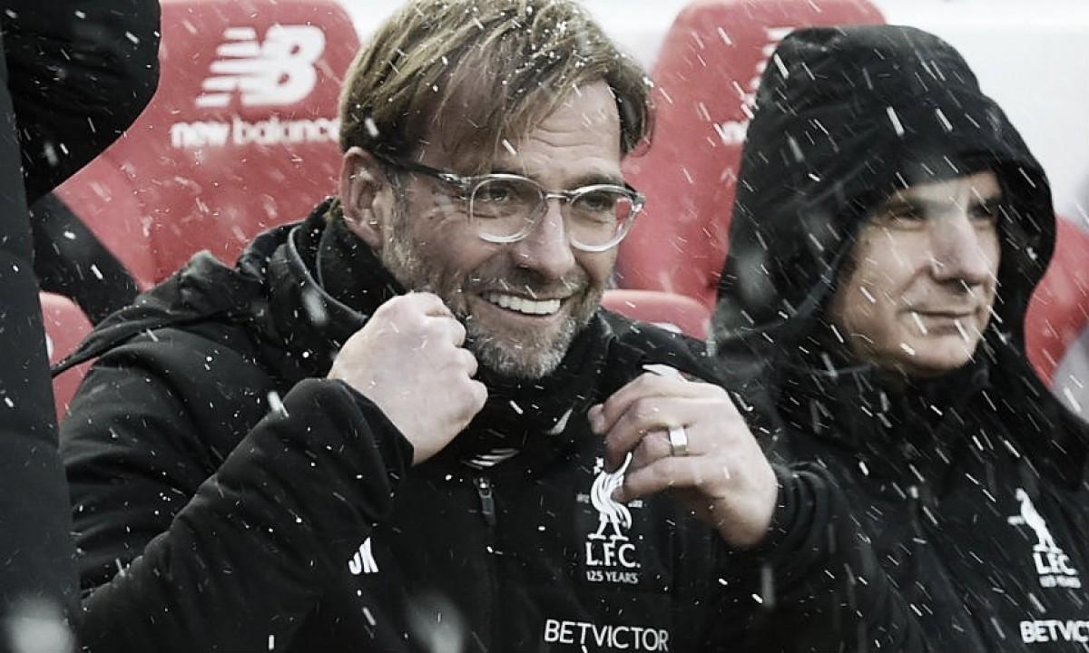 """Jürgen Klopp: """"Estoy muy feliz por el resultado"""""""