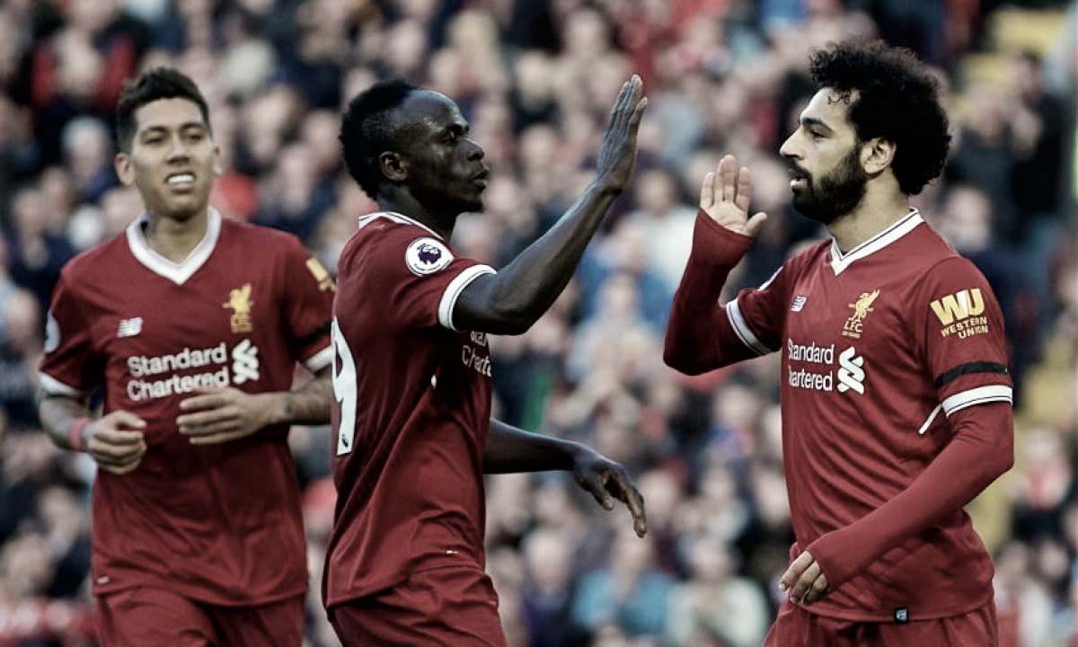 Liverpool, el tridente ofensivo