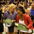 Caroline Wozniacki Defeats Serena Williams In Exhibition