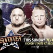 Cartelera WWE SummerSlam 2017