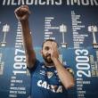 """Em apresentação, Barcos enaltece a grandeza do Cruzeiro: """"Sempre foi minha primeira escolha"""""""
