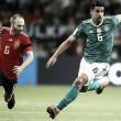 Alemanha e Espanha ficam no empate em jogo de alto nível técnico