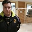 Manolo Granados, a Madrid con la selección murciana sub-17