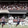 Com um a menos, São Paulo empata com Bahia no Morumbi