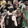 Los Cleveland Cavaliers logran la primera victoria de la serie ante unos irreconocibles Celtics