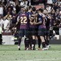 Celebración de uno de los goles marcados en la competición doméstica | Foto de Noelia Déniz, VAVEL
