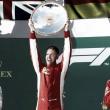 La primera del año fue para Vettel