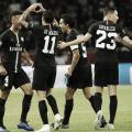 Em duelo acirrado,Di María marca e Paris Saint-Germain empata com Napoli em casa
