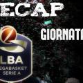 Legabasket, Serie A: risultati e tabellini della decima giornata