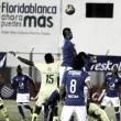 Millonarios hizo justicia y empató ante Bucaramanga como visitante