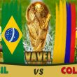 Live Coupe du Monde 2014: Brésil vs Colombie