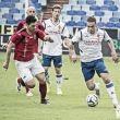 Pombo inauguró su cuenta goleadora en Sant Andreu