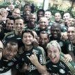 Em noite repleta de gols e homenagens, Alex se despede do Palmeiras