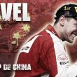 Resultado Clasificación del Gran Premio de China 2015