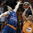 La primera parte condena la remontada del Valencia Basket