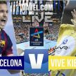 Resultado FC Barcelona vs Kielce en la Champions League 2015 (33-28)