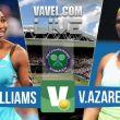 Serena Williams vs Victoria Azarenka Live Result Stream Commentary Of The 2015 Wimbledon Quarterfinals (0-0)