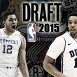 Elecciones del Draft de la NBA 2015