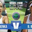 Victoria Azarenka vs Belinda Bencic Live Stream And Commentary Of The 2015 Wimbledon Fourth Round