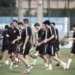 Último entrenamiento antes de visitar el Complejo Deportivo La Fuensanta