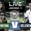 Rsultado Sporting de Portugal - Belenenses en la Liga Portuguesa 2015 (1-0): William derriba el muro en el descuento