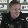 Swansea behind under pressure manager Garry Monk