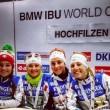 Biathlon, Hochfilzen: esaltante Italia, prima vittoria della storia in una staffetta femminile