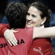 "Conchita Martínez: ""Realmente ha sido una buena victoria"""