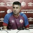 """Alexandre Gallo cobra cautela após goleada do Náutico: """"Temos muito para trabalhar"""""""