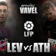 Levante UD - Athletic de Bilbao: última oportunidad para granotas y leones