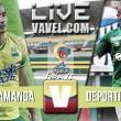 Resultado Atlético Bucaramanga vs. Deportivo Cali en vivo por la Liga Águila (1-1)
