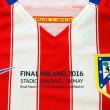 El Atlético presenta su camiseta para la final