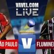 Jogo São Paulo x Fluminense ao vivo online no Brasileirão 2016 (1-0)