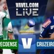 Jogo Chapecoense x Cruzeiro ao vivo online no Brasileirão Série A 2016 (1-1)