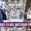 WSL 1 - Week Nine Preview - Arsenal and Chelsea look to close the gap on leaders City